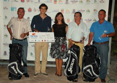 Foto de familia de los ganadores del Pro Am